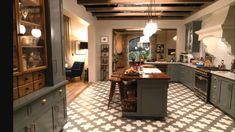 Robert and Sol's kitchen from the show Grace and Frankie. I love their house!