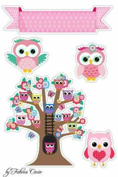 Diy And Crafts, Crafts For Kids, Paper Crafts, I Love School, Blue Nose Friends, 3d Cards, Baby Owls, Cute Owl, Baby Decor