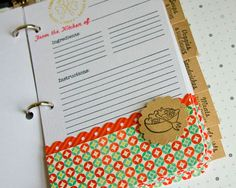 Recipe Madness - DIY Recipe Book Tutorial