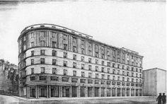 EUGENIO FUSELLI, Cassa Marittima Tirrena, Genova, Via Milano 47, 1939