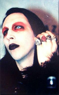 Daddy Marilyn Manson, Him Band, Bands, Musicians, Bubble, Twiggy, Melancholy, Bowie, Occult
