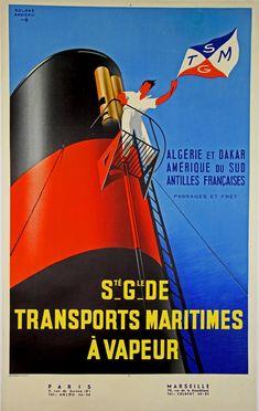 1950 SGTM vers l'Algérie - Roland Ansieau