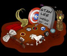 Comic Book Legend Stan Lee is no more with us. Stan Lee was one of the most famous comic book writes and publisher. Lee is the king of cameo, his cameo is the next big thing after the Marvel Avengers, Marvel Comics, Marvel Fanart, Hero Marvel, Bd Comics, Marvel Funny, Marvel Memes, Spiderman Marvel, Marvel Heroes