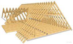 Стропи́ла (стропильная система) — несущая система скатной крыши. Состоят из наклонных стропильных ног, вертикальных стоек и наклонных подкосов. При необходимости «связываются» понизу горизонтальными подстропильными балками.