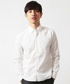 【ZOZOTOWN|送料無料】Audience(オーディエンス)のシャツ/ブラウス「オックスフォードシャーリングボタンダウン長袖シャツ」(AUD1231JP)を購入できます。