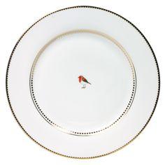 Dinnerplate Love Birds white  €12,95