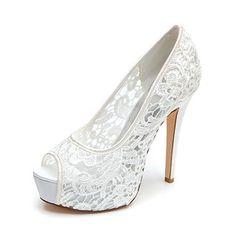 Bombas de las mujeres del dedo del pie del pío del talón de estilete Zapatos  de d0c7238cd50c