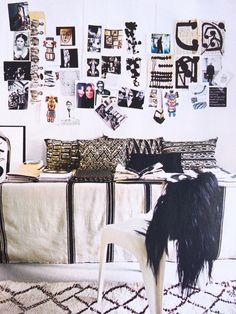 good reads: elle decoration u. / sfgirlbybay - Love Home Decor Inspiration Wall, Interior Inspiration, Interior Architecture, Interior And Exterior, Interior Decorating, Interior Design, Decorating Ideas, Workspace Design, Diy Home Decor Projects