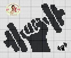 Vamos começar a semana malhando muito Cross Stitch Bookmarks, Cross Stitch Charts, Cross Stitch Designs, Cross Stitch Patterns, Bead Loom Patterns, Beading Patterns, Embroidery Art, Cross Stitch Embroidery, Stitches Wow