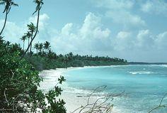 Ocean Beach on West Coast of Diego Garcia Diego Garcia, Running Away, Ocean Beach, West Coast, Places Ive Been, Islands, Sky, Mountains, Water