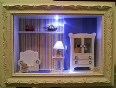 Scrap by Vania Bichels: Quadro Porta Maternidade Menino com Brinquedos