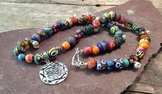 African Tribal Necklace Ethnic Bohemian by TheHippieBohemian