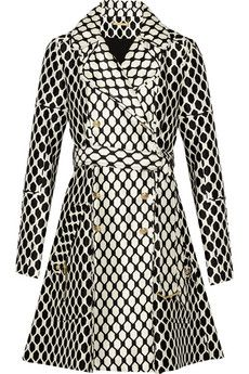 Diane von Furstenberg Michelle printed wool and silk-blend jacket   THE OUTNET  $378