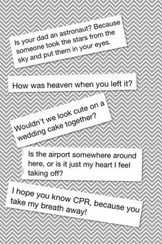 Cheesy pick up lines #2 (Internet dating)