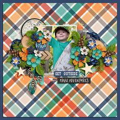 Wild Child by Kristin Cronin-Barrow and Shawna Clingerman http://www.sweetshoppedesigns.com/sweetshoppe/product.php?productid=32430&cat=781&page=7  No Template
