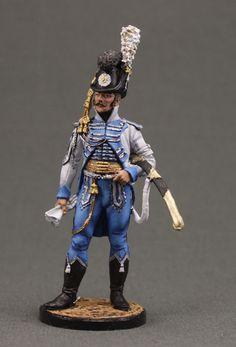 Officer Horse Life Guards. Sweden, 1807