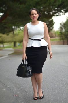 Plus size fashion icon girl with curves curvy fashion, curvy fashion, gir. Black Women Fashion, Curvy Women Fashion, Look Fashion, Plus Size Fashion, Fall Fashion, Fashion Ideas, Fashion Trends, Business Mode, Business Casual