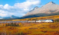 10 Great American Train Trips  - I'll be happy with just one!!!  :)