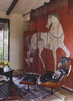 martin barn erin martin horse mural horse decor door horse horse barn interior barn doors via interior inspi interior