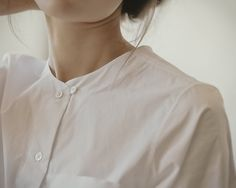 clean white blouse - simplicity is chic