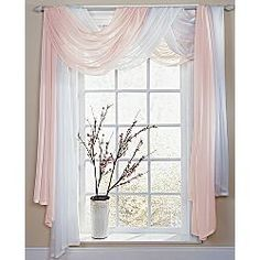 Ways To Hang Sheer Curtains | Sheer Valance Will Add Light To Your Room And Elegance To Your ...