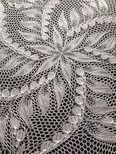 Advanced Lace Knitting Pattern. To learn lace knitting, go to http://knitfreedom.com/classes/lace-knitting. (c) stasia