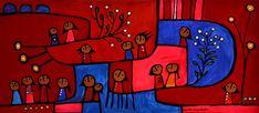Para Mirar | Pinturas | Manchado Lucila | Centro Cultural Virtual | FARES TAIE