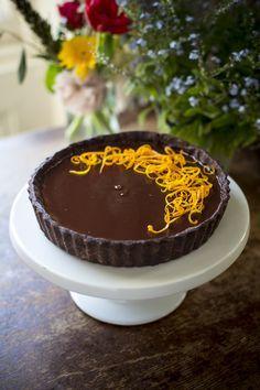 Chocolate Orange Tart | DonalSkehan.com | HomeCooked Kitchen Blog