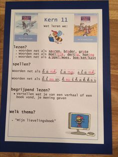 Kern 11. Doelenkaarten per kern voor Veilig Leren Lezen 2e maanversie, om de leerdoelen voor de leerlingen, de ouders en jezelf inzichtelijk te maken. Ik kan je het bestand mailen, achtergrond is gekleurd karton 270 grams, in dit geval in dezelfde kleur als de kern.