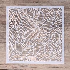 Dragonfly  Stencil  5 x 5 inc Tile  Furniture Wall ART Craft DIY  13 x 13 cm