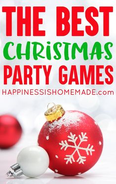 The Best Christmas G The Best Christmas Games for Kids and Adults - Christmas Games: Looking for fun Christmas party games? These 15 Christmas games are the BEST of the best Christmas games for kids and adults! Tons of fun for everyone! Christmas Activities For Adults, Christmas Drinking Games, Christmas Party Games For Groups, Christmas Party Games For Adults, Fun Christmas Party Games, Xmas Games, Adult Christmas Party, Holiday Games, Christmas Humor