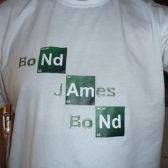 my first Breaking Bad Typo t-shirt