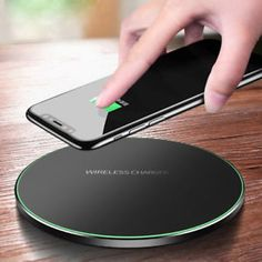 Shop For Cheap 10w Qi Wireless Charger Fast Charging With Bluetooth Function mini Chair Wireless Charger Stand Holder For Iphone 8 Xs/x/ Xr/ Beneficial To The Sperm Chargers