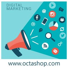 Does your eCommerce website lack web traffic? Then opt for Octashop's Digital Marketing Program and avail the best service. Visit http://www.octashop.com/ecommerce-technology-services.html  #Online #Octashop #Customers #webtraffic #DigitalMarketing