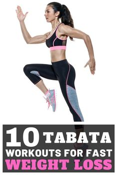 Tabata is a specialized form of high-intensity interval training (HIIT). It involves intervals of two or more exercises. You alternate 20 seconds of high-intensity effort with 10 seconds of rest. Tabata is one of the most effective means to increase stren 30 Day Ab Workout, Leg Day Workouts, Tabata Workouts, Easy Workouts, Fitness Workouts, At Home Workouts, Workout To Lose Weight Fast, Fast Weight Loss, How To Lose Weight Fast