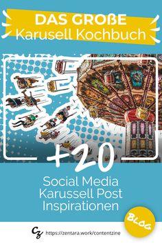 Das Karussell ist das ideale Posting, wenn du in den sozialen Medien Inbound Marketing umsetzen möchtest: ✓ Plattformen ✓ Tools ✓ Tipps ✓ Best Practice