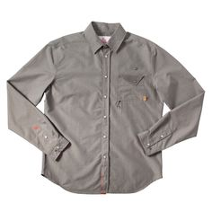 Description Details Care Sizing    The Bodie Buttondown gives the old west's classic buttondown a modern advantage—boasting a time-honored mountain aestheti...