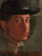 Self-Portrait, Edgar Germain Hilaire Degas, about 1857–58
