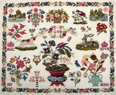 A Dutch sampler 1857