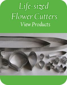 Patty Clay Flowers: Materials & Tools - Bargain Polymer Clay Flowers Supplies online shopping/Air dry Molding clay/Flower Cutter mould/Veiners Mould supplies Materials and Tools Resin mould for clay flowers how to at pattyclayflowers.com/Patty Craft & Supplies
