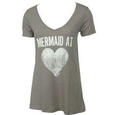 #Billabong Womens Shirt #Mermaid At Heart Midnight Grey #mermaidatheart