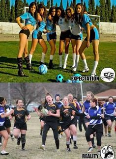 The Hilarious Gap Between Expectations and Reality