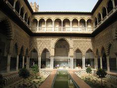 Real Alcazar Courtyard
