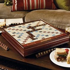 Scrabble: Frontgate Deluxe Edition Board Game