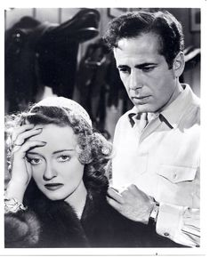 Humphrey Bogart and Betty Davis Together  8x10  Photo, B.W..