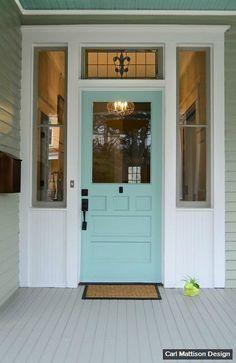 Grant Park Bungalow Makeover Painted Front Doorspaint