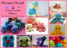 Octopus Octopi Pattern Collection