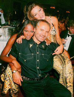 Versace with Naomi Campbell