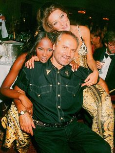 Versace with Naomi Campbell