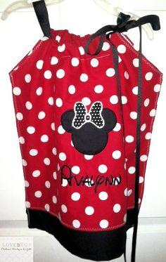 Custom Minnie Mouse Dress